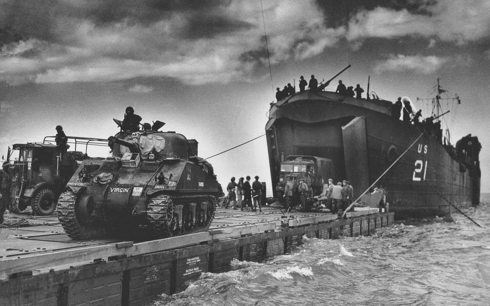 Medium Tank M4, Sherman Normandy 1944