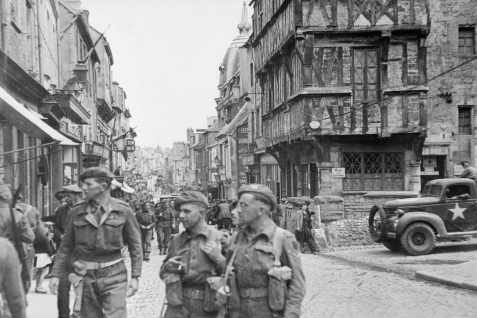 June 7, 1944 the city of Bayeux