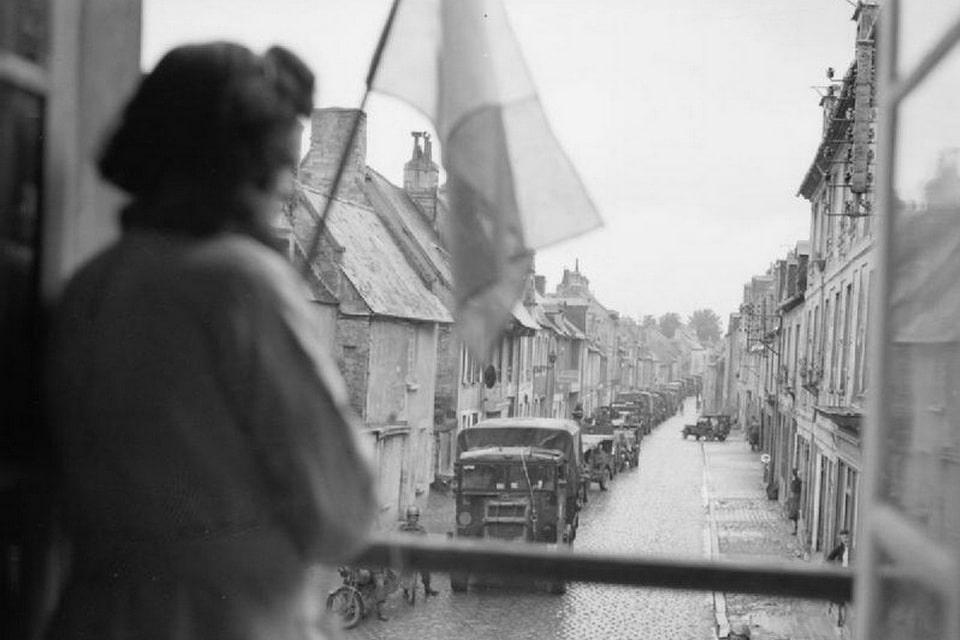 Liberation of Bayeux, June 7, 1944