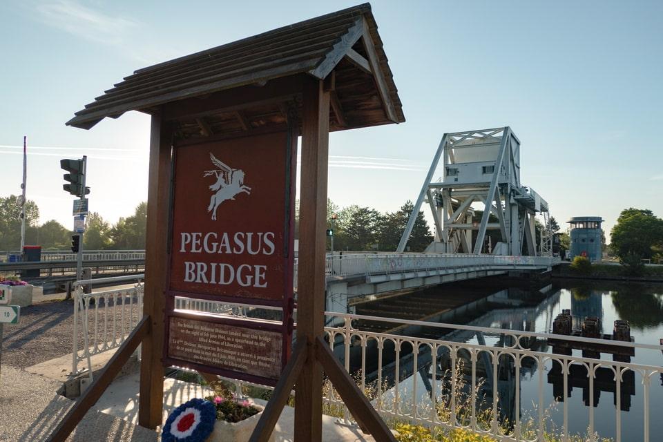 Pegasus bridge today, Benouville France