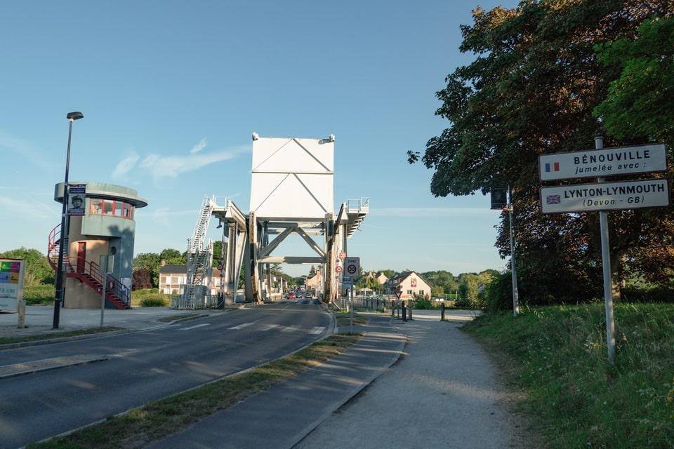 Pegasus bridge today, Benouville