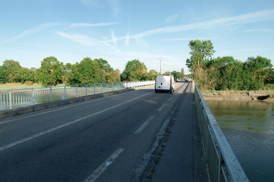 Horsa bridge today, Ranville, Calvados, Normandy France