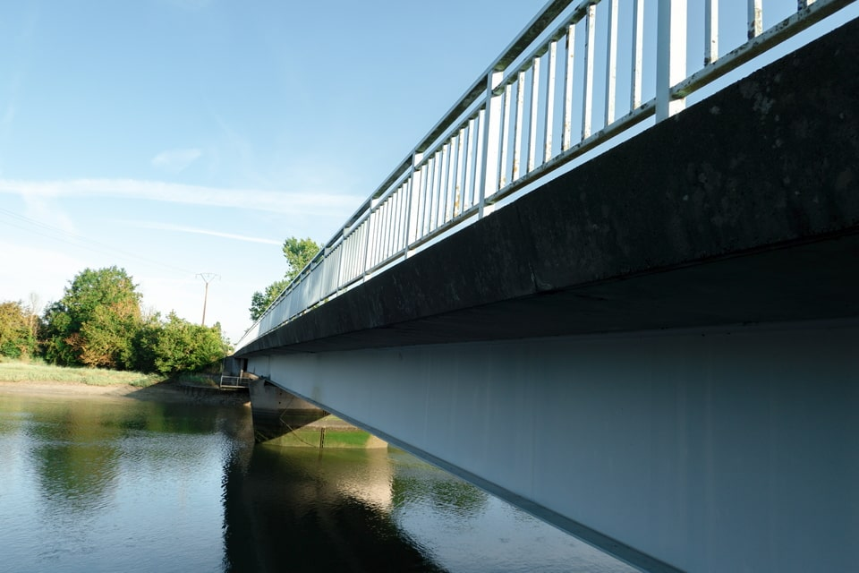 The horsa bridge today