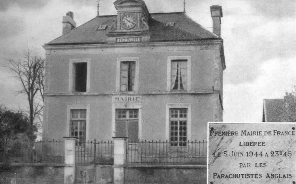 The townhall (Mairie) of Benouville