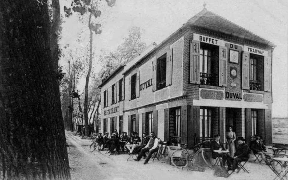 cafe gondree benouville prior to 1934 (Buffet Du Tramway)