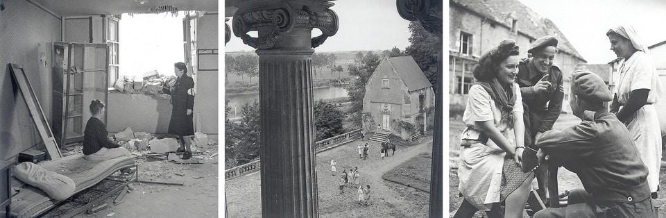 Chateau de Benouville after the liberation