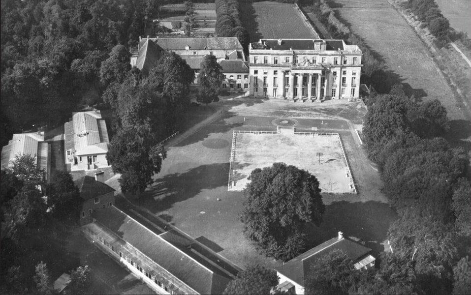 Chateau de Benouville in 1944