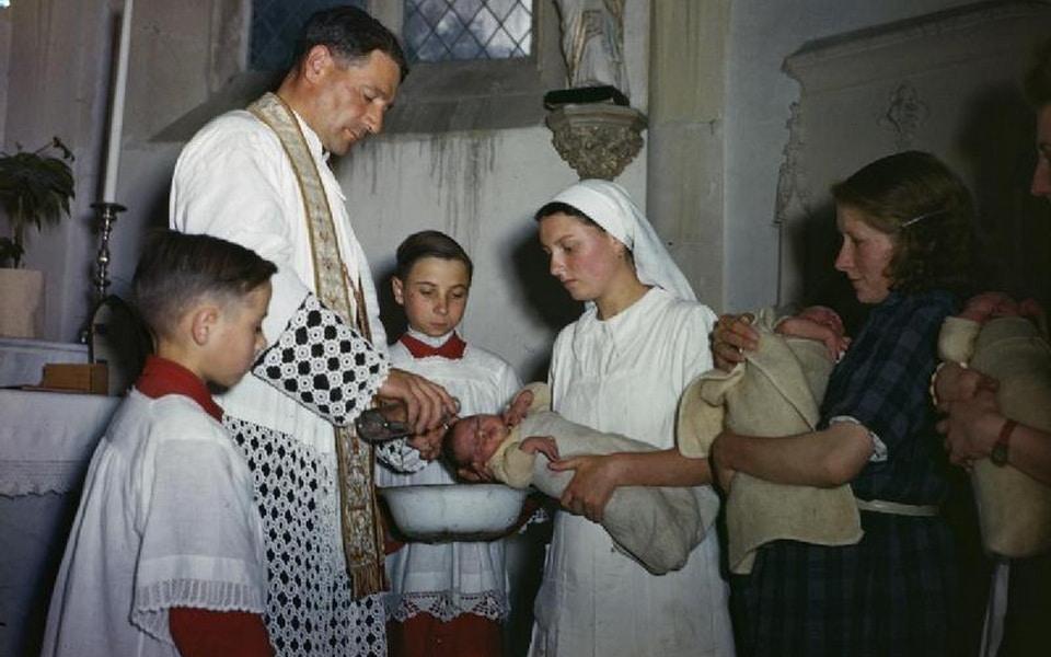 CHATEAU DE BENOUVILLE and the baptism procedure