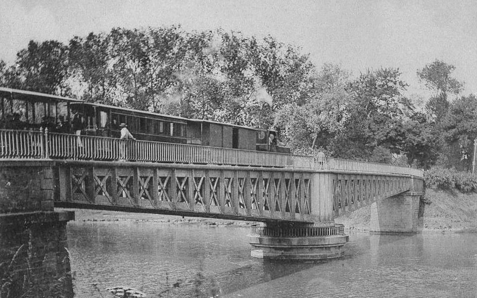 Horsa bridge between Ranville and Benouville
