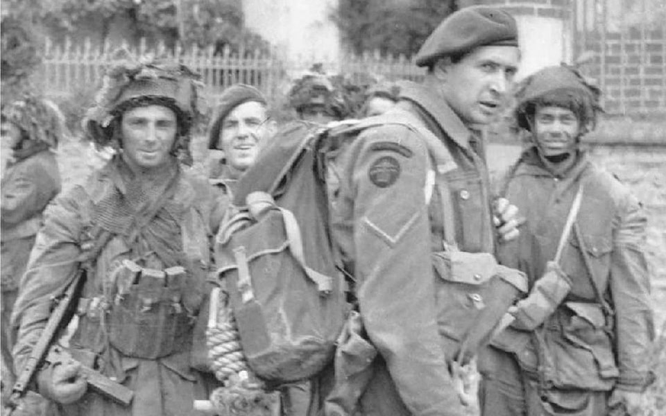 British Commandos on D-Day, the city of Benouville