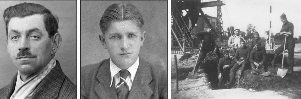 Auguste Niepceron, his son Rene: the bridgekeepers of Benouville