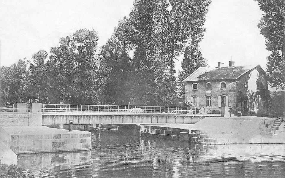 benouville bridge prior to the WWII