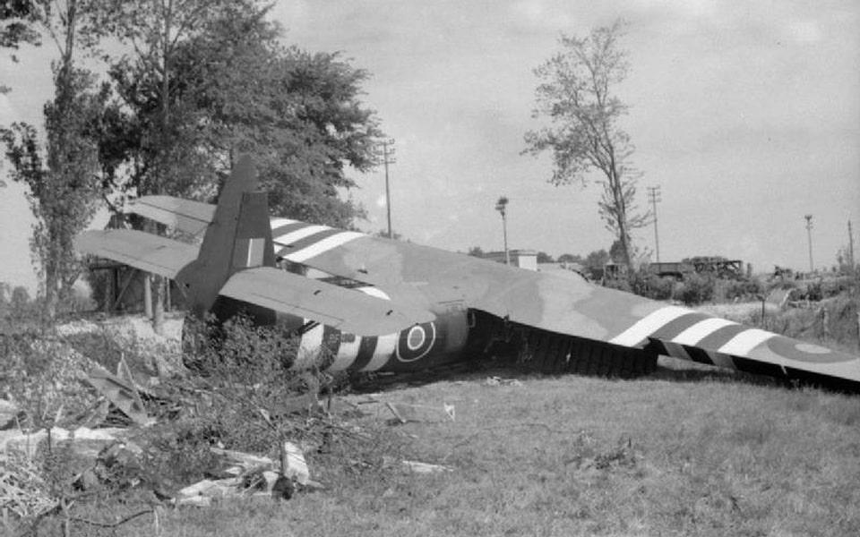 Horsa glider in Benoville, D day 1944